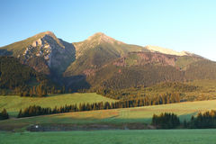 Slovakia mountain - Tatras Stock Image
