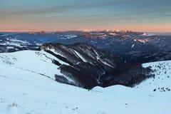 Slovakia mountain at winter - Fatras Royalty Free Stock Photography