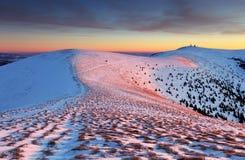Slovakia mountain at winter - Fatras Royalty Free Stock Image