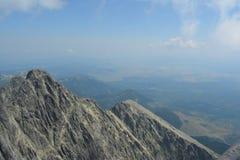 Slovakia mountains. With blue skies Royalty Free Stock Photo