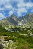 Slovakia mountains. Slovakia mountain skies, stones and plants Stock Photography