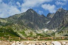Slovakia mountains. Slovakia mountain skies, stones and plants Stock Image