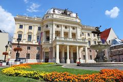 Slovakia National Theatre Stock Photos