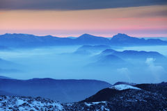 Slovakia nature mountain - Tatras Royalty Free Stock Photos