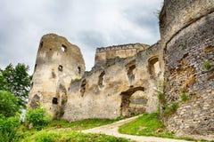 Slovakia old castle - Lietava Stock Images