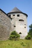 Slovakia - one basiton of Bzovik castle - old benedictine cloister Stock Photo