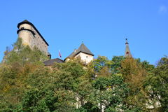 Slovakia. Orava Castle. stock photography
