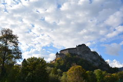 Slovakia. Orava Castle. royalty free stock photos