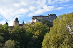 Slovakia. Orava Castle. royalty free stock images