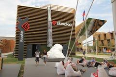 Slovakia pavilion Stock Photos