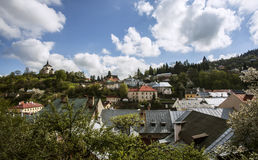Slovakia. Photo session from Banska Stiavnica. Old historic city protected by UNESCO. Its old mining area Stock Photos