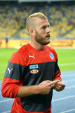 Slovakia players Royalty Free Stock Images