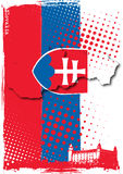 Slovakia poster Stock Photos