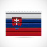 Slovakia siding produce company icon Royalty Free Stock Photo