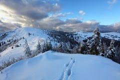 Slovakia ski resort at winter - Donovaly Royalty Free Stock Photo