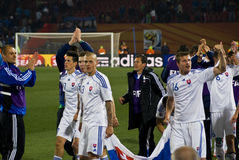 Slovakia - Soccer Team - FIFA WC 2010 Royalty Free Stock Images