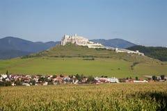 Slovakia - Spissky hrad - castle Stock Photography