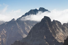 Slovakia, Tatra Mountains, Gerlachvsky Peak Royalty Free Stock Images
