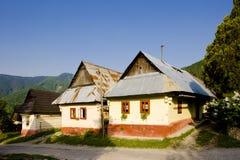 slovakia vlkolinec arkivfoton