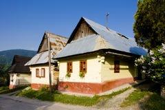 slovakia vlkolinec arkivbild