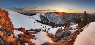 Free Slovakia Winter Mountain At Sunset - Velka Fatra Royalty Free Stock Image - 52060436