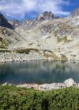 slovakia wysocy jeziorni tatras Obrazy Royalty Free