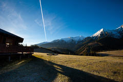 Slovakian Belianske Tatry mountains landscape Stock Photography