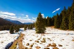 Slovakian Belianske Tatry mountains landscape royalty free stock photography