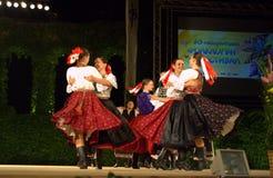 Slovakian dance ensemble Royalty Free Stock Image