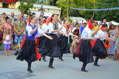 Slovakian dancers Stock Photography