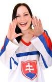 Slovakian Fan Stock Photo