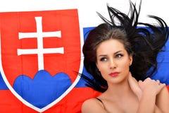 Slovakian Fan Stock Image