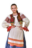 Slovakian folklore clothes traditional Royalty Free Stock Photography