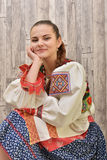 Slovakian folklore clothes traditional Stock Photo