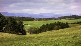 Slovakian krajobrazy Obrazy Stock