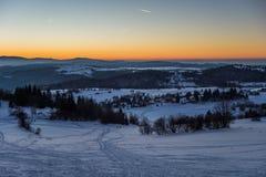 Slovakian krajobrazy Zdjęcia Stock
