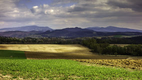Slovakian landscapes. Slovakian beautiful natural scenery landscapes Royalty Free Stock Image