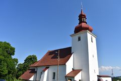 Slovakian Little Church Stock Images