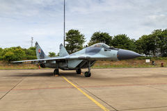 Slovakian MiG-29 Zdjęcia Stock