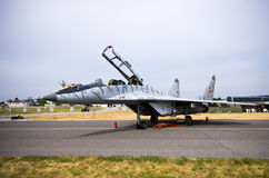 Slovakian MiG-29 na Radomskim Airshow, Polska Zdjęcie Stock