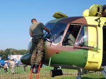 Slovakian Mil Mi-17, Radom, Poland Royalty Free Stock Image