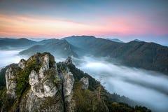 Slovakian Mountains Sulov Royalty Free Stock Photos