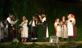 Slovakian music ensemble Royalty Free Stock Image