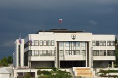 Slovakian Parliament Stock Images