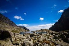 Slovakian Spiski lakes Tatry mountains Stock Photography