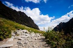 Slovakian Spiski lakes Tatry mountains Royalty Free Stock Photo