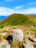 Slovakian Tatrzańskie góry Fotografia Royalty Free