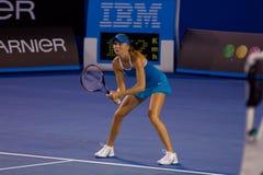 Slovakian tennis player Daniela Hantuchova Royalty Free Stock Photo