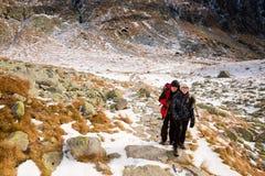 Slovakian Velicka Dolina Tatry mountains Stock Images