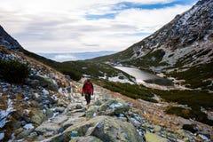 Slovakian Velicka Dolina Tatry mountains Royalty Free Stock Image